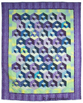 Dancing Diagonals Quilt by Sarah Shemwell