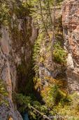 Maligne Canyon near Jasper, Jasper National Park, Alberta, Canada