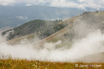 Clouds rolling into National Bison Range, Montana, USA