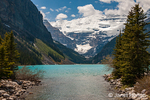 Banff National Park, Alberta, Canada.  Lake Louise