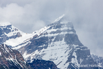 Glaciers along the Icefields Parkway in Banff National Park, Alberta, Canada
