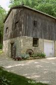Pre-civil war barn built circa 1852, belonging to the Dempsy family