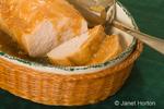 Serving platter with turkey loaf
