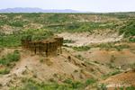 Oldupai Gorge rock formations