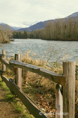 Skagit River as viewed from the Milepost 100 Rest Area at Sutter Creek on State Route 20