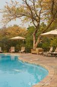 Swimming pool at the Cresta Mowana Safari Lodge