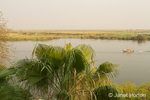 View of the Chobe River from the Cresta Mowana Safari Lodge