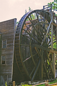 Bale Grist Mill with water wheel