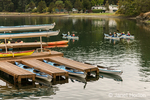 Kayakers leaving the marina in Roche Harbor