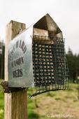 Orchard Mason Bee Hive at Dog Mountain Farm