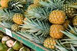 Pineapple for sale at the La Garita Farmer's Market