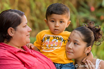 Latino family who own the Botanical Orchid Garden