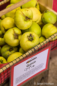 Box of Quince for sale at the Kiyokawa Family Orchards