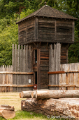 Bastion at Fort Nisqually Living History Museum