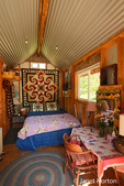 """This """"Tiny House"""" is a darling 8' x 15' cabinette enjoyed for a weekend home for several years and is now a tiny guest house enjoyed by many in Leavenworth, Washington, USA"""
