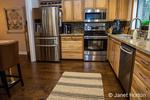 Modern kitchen interior in Issaquah, Washington, USA