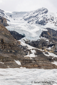 Athabasca Glacier along Icefields Parkway