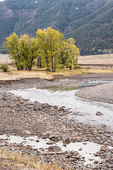 Scenic landscape of Slough Creek in the Lamar Valley
