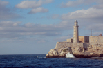 Havana's Morro Castle, the Castle of the Three Holy Kings, simply known as El Morro, stands across the harbor entrance form the Ciudad Viega (Old Town) and the Central Havana area.