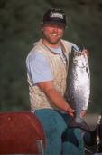 King Salmon, Puget Sound, Salmon Fisherman, Oncorhynchus tshawytscha, Washington State, Ernie Perlath,