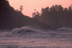 Surf kayaking, La Push, Olympic National Park, Olympic Peninsula, Washington State, Pacific Northwest, Pacific Ocean, surf kayaker competing at the informal Surf Frolic,