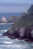 Heceta Head, Oregon coast, Pacific Coast, Oregon State, Pacific Northwest, USA, Pacific Ocean, Highway