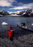 Alaska: Sea kayakers, Kenai Fjords National Park