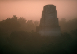 Tikal, Guatemala, Mayan temple, jungle, sunrise,