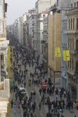 Istanbul, Turkey, Beyoglu, district, Istiklal Caddesi, Istiklal Avenue, popular street promenade,