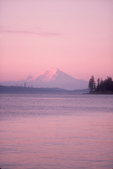 Seattle, Puget Sound, Mount Rainier, sunrise from Kingston, Kitsap Peninsula, Washington State, Pacific Northwest,