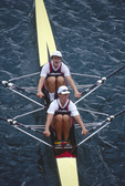 US Women's double sculls, Cologne, Germany, 1998 FISA World Rowing Championships, Bow: Carol Skricki, Stroke: Laurel Korholz,