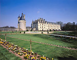FRANCE - Chateau Chenonceau and formal gardens