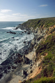 CALIFORNIA - The rugged west side of Tomales Point in Point Reyes National Seashore.
