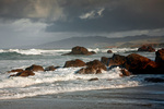 CALIFORNIA - Stormy day on the Pacific Ocean at the Sanoma Coast.