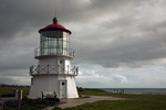 CALIFORNIA - The former Mendocino Point Light which is currently located on the Pacific Coast at Mel Coombs Park in Shelter Bay.