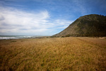 CALIFORNIA - Miller Flat, a large meadow, located along the Lost Coast Trail in the Kings Range National Conservation Area.