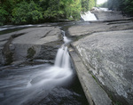 NORTH CAROLINA - Lower section of Triple Falls on the Little River in Dupont State Forest in the Waterfall District.
