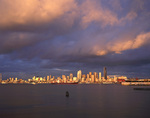 WASHINGTON - Elliott Bay and the downtown Seattle Skyline.