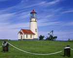 BB06363-01...OREGON - Cape Blanco Lighthouse on the Pacific Coast at Cape Blanco State Park.