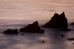OREGON - Sunset over the Pacific Ocean from Ecola State Park.