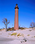 MICHIGAN - Little Sable Point Lighthouse near Silver Lake on the shores of Lake Michigan.