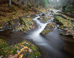 MICHIGAN - Cascade on the Union River in the Porcupine Mountains Wilderness State Park.