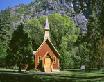 CALIFORNIA - The Chapel in Yosemite Valley; Yosemite National Park.