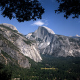 CALIFORNIA - Half Dome and Yosemite Valley in Yosemite National Park.