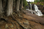 Minnesota - Middle Gooseberry Falls in Gooseberry Falls State Park along Lake Superior North Shore.