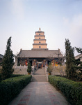 CHINA - The Great Wild Goose Pagoda in Xi'an.
