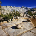 CALIFORNIA - Sabrina Lakes Basin in the John Muir Wilderness area of the Inyo National Forest.