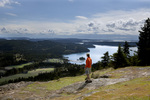 WASHINGTON - View from Ship Peak on Turtleback Mountain, Orcas Island