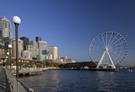 WASHINGTON - The Great Wheel and the Seattle water front.