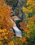 Tempesta Falls, Tallulah River, Tallulah Gorge State Park, GA